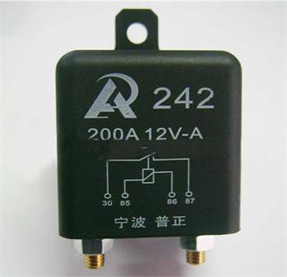 200A 12V relays used for the Range Rover P38 battery saving mod.