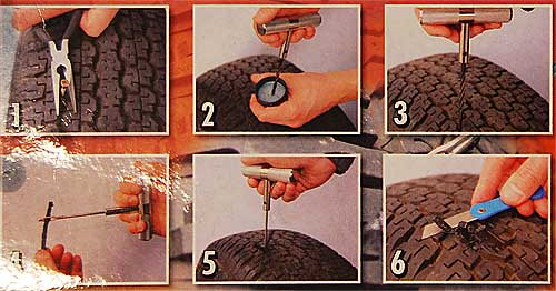 Plugg-A Car tire repair kit