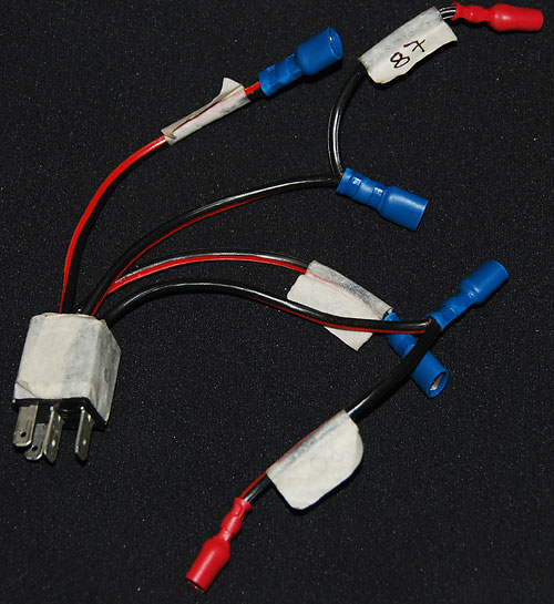 Relay brake out harness for trouble shooting the Range Rover P38