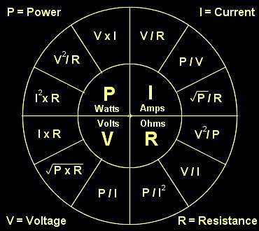 Ohms law calculating help