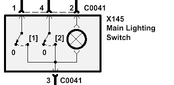 Range Rover P38 Headlight switch trouble shooting