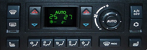 Range Rover P38 HEVAC control unit the latest JFC102550 version