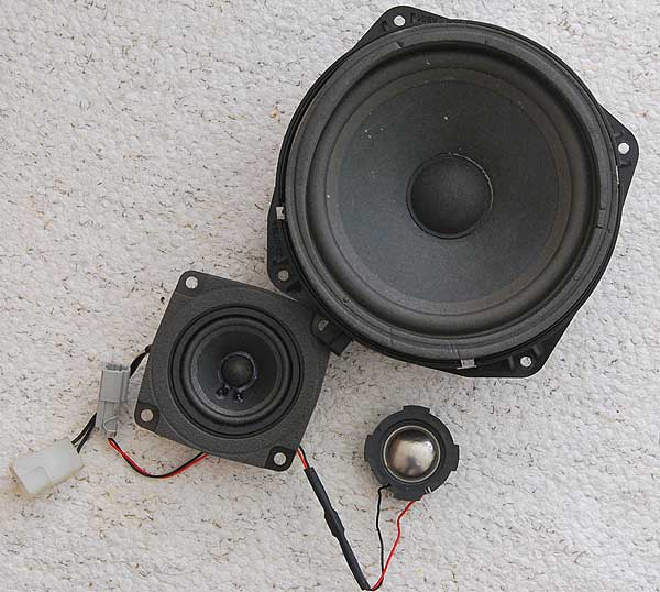 Original Range Rover p38 Harman Kardon door speakers